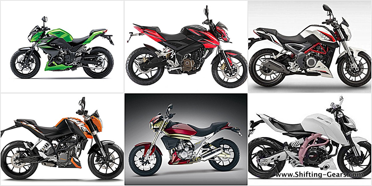 200cc - 300cc street fighters: Comparo