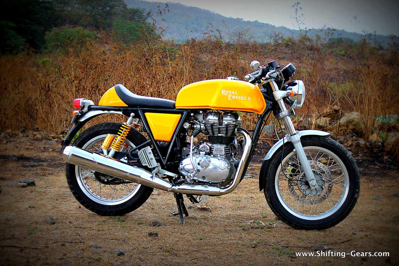 royal enfield continental gt review shifting gears. Black Bedroom Furniture Sets. Home Design Ideas