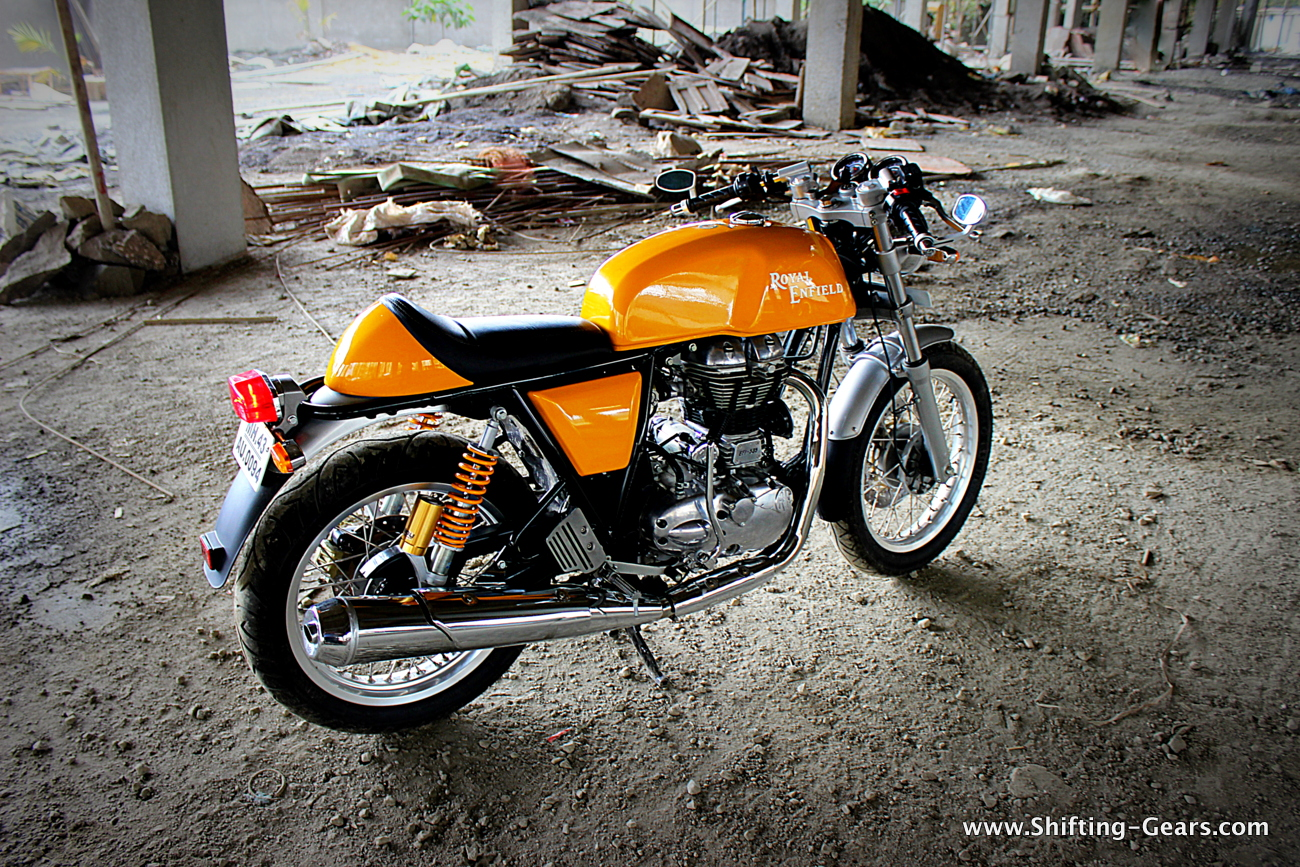 royal enfield continental gt photo gallery shifting gears. Black Bedroom Furniture Sets. Home Design Ideas