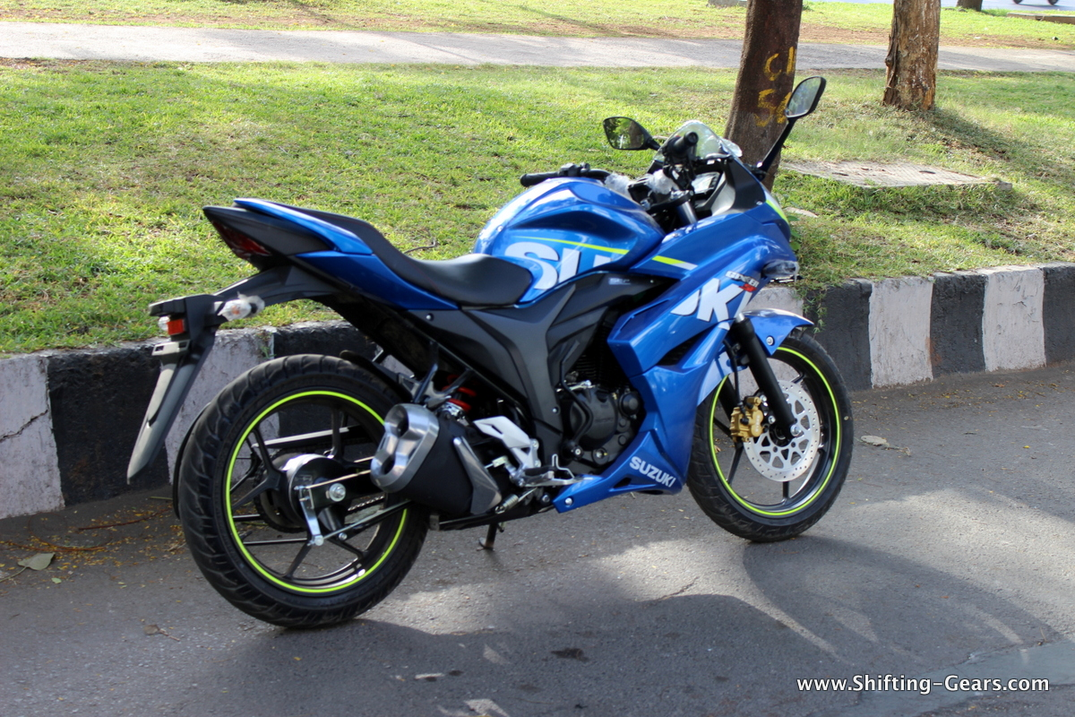 Suzuki Sticker For Gixxer Sf