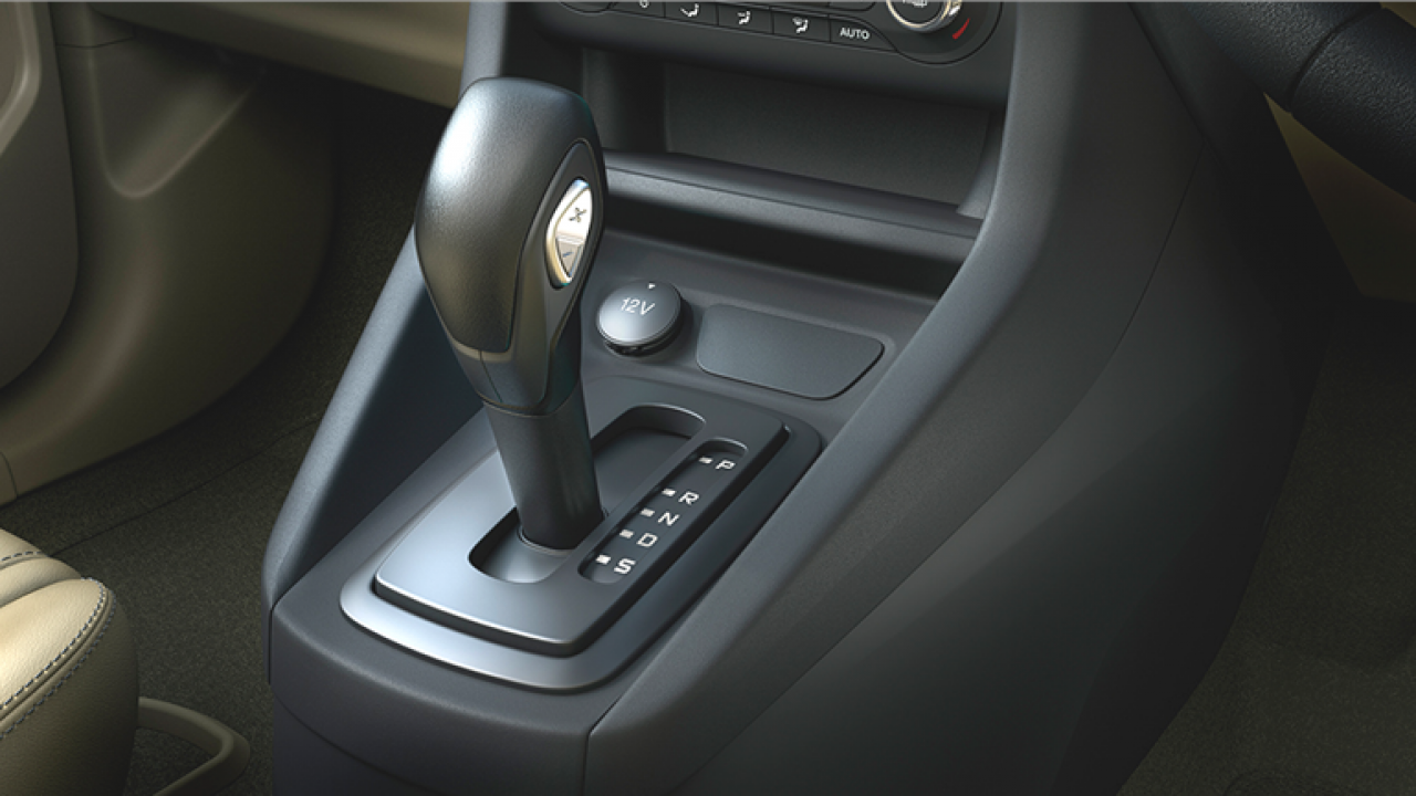 Ford Figo Aspire automatic to get tiptronic buttons on gear lever