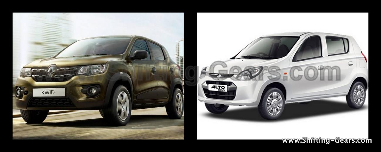 Renault Kwid Vs. Maruti Suzuki Alto - Design Comparison