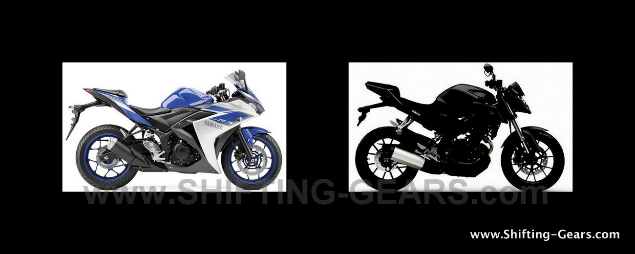 Yamaha YZF-R25 Vs. MT-25 : Differences