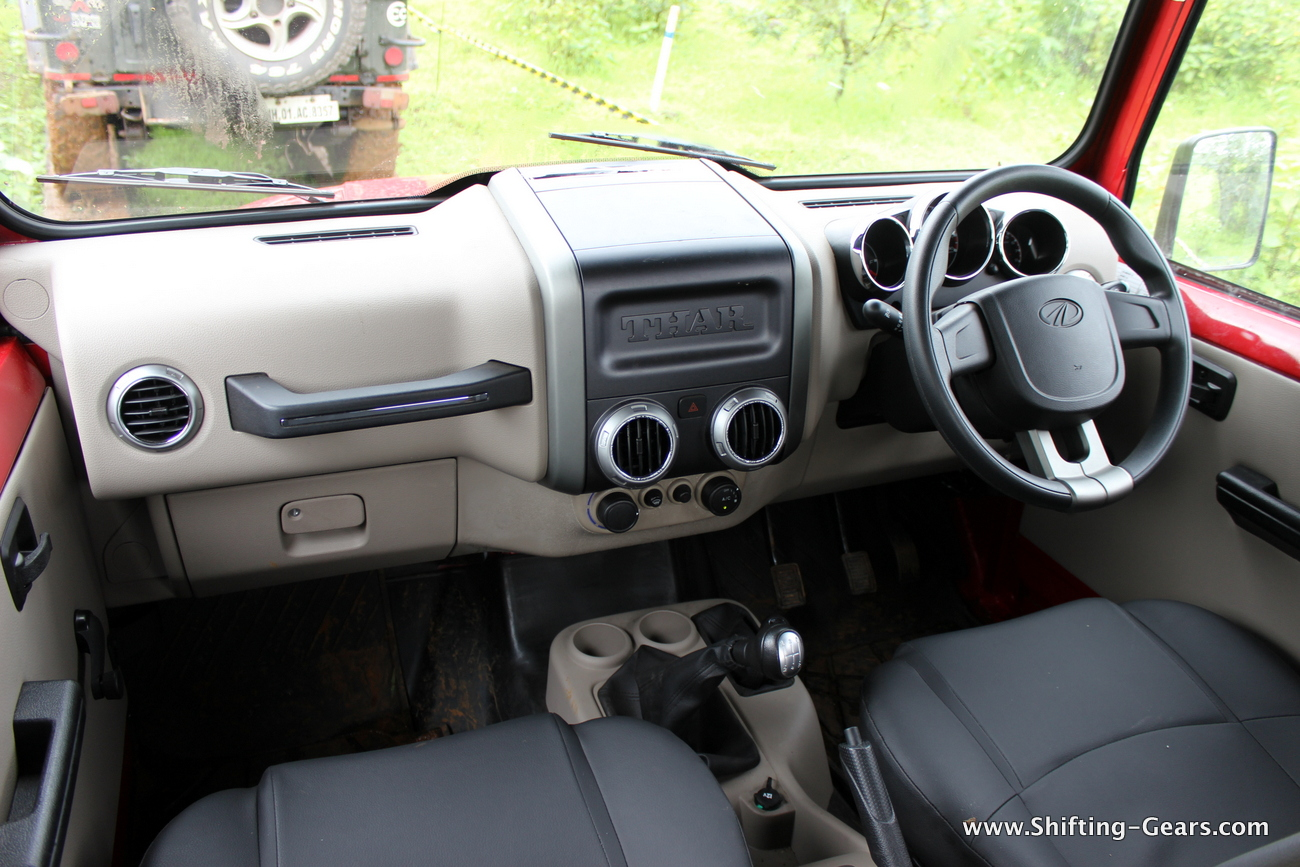 Mahindra Thar Crde 4 215 4 Review Shifting Gears