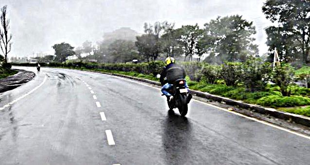 Safe riding tips for monsoon