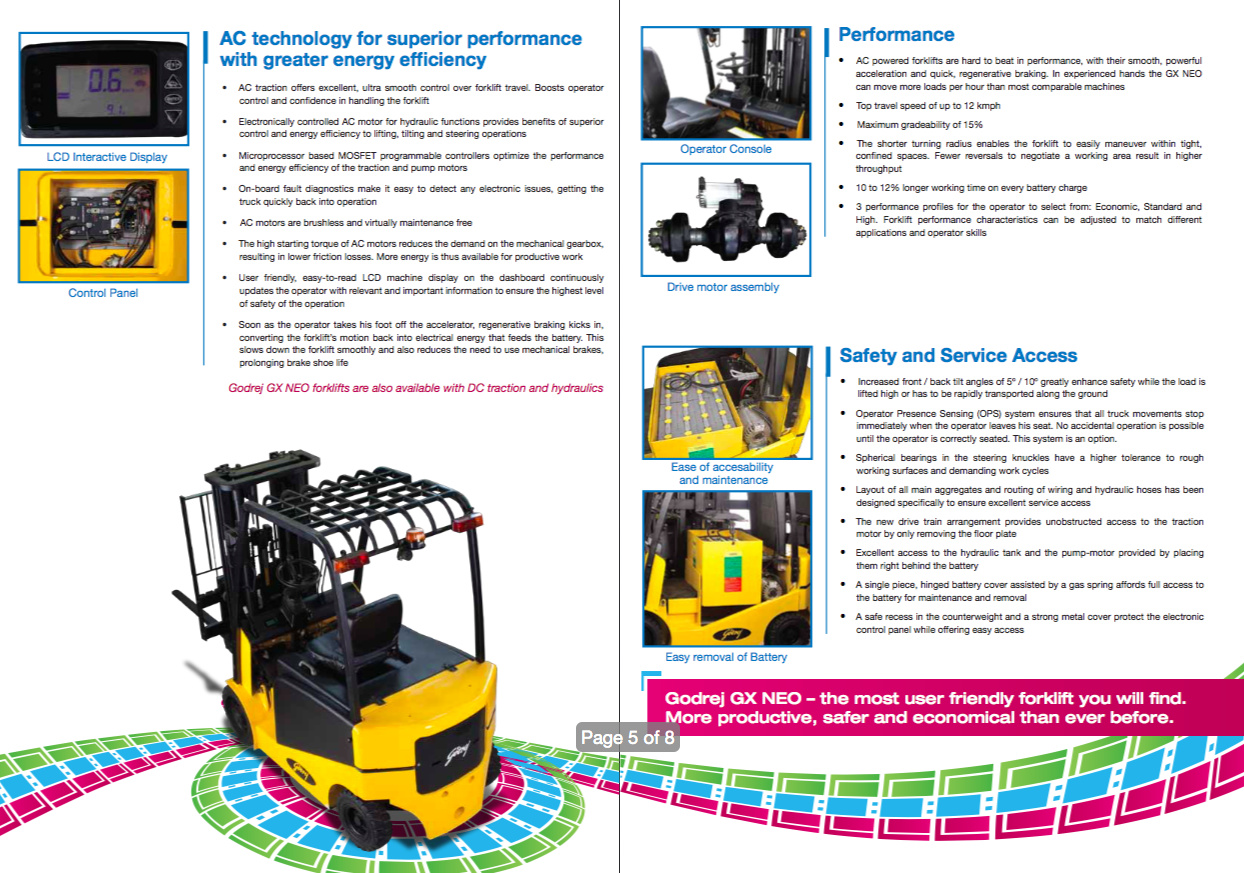 About Godrej Amp Boyce Forklifts Shifting Gears