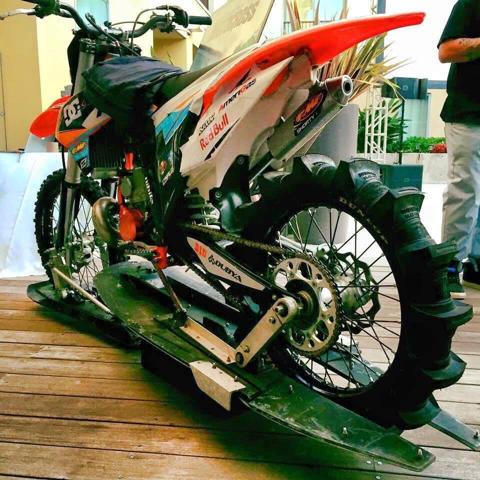 Robbie's custom KTM