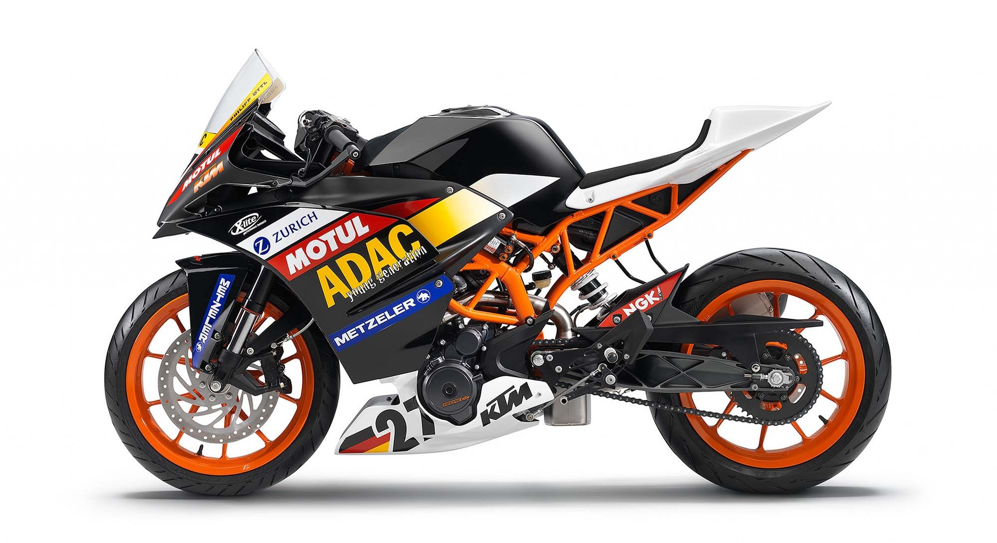 KTM RC race bike