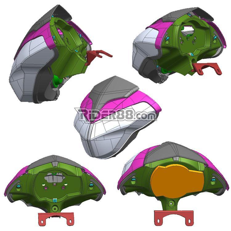 Headlamp in development stage