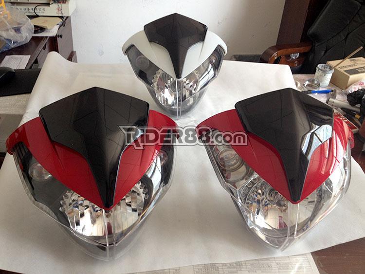 Headlamps ready to ship