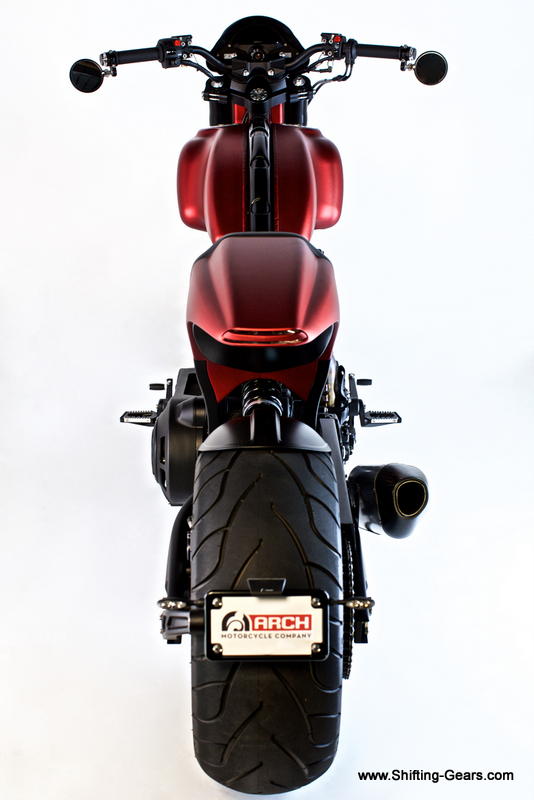 Arch shaped Tail light