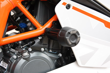 KTM frame sliders