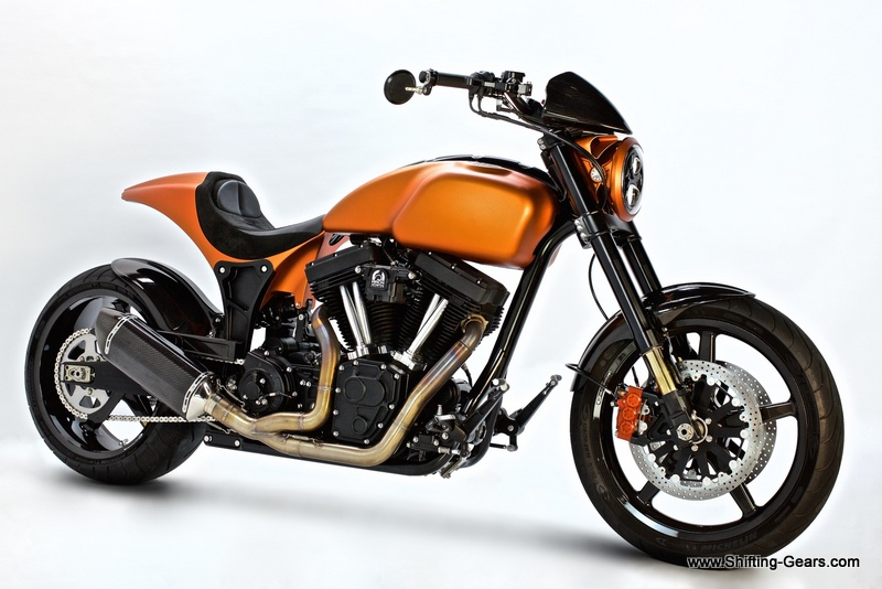 Keanu reeves & his Arch Motorcycle Company   Shifting-Gears