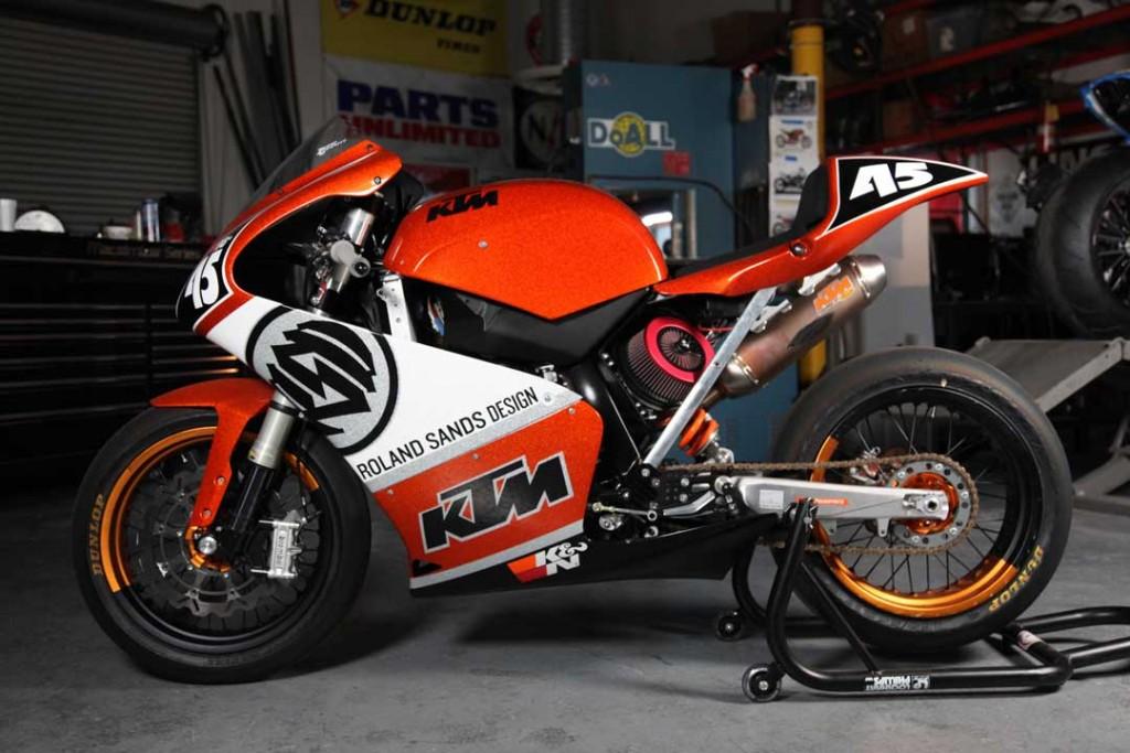 RSD custom KTM 450
