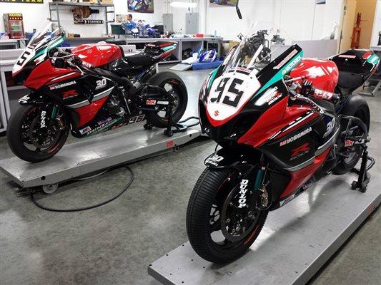 Suzuki GSX R1000 30th Anniversary race bike