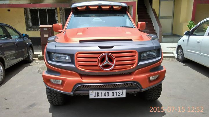 Tata Xenon converted to a Mercedes Ener-G-Force Concept look alike