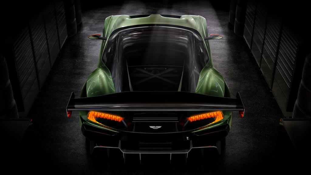 Aston Martin Vulcan - tailend