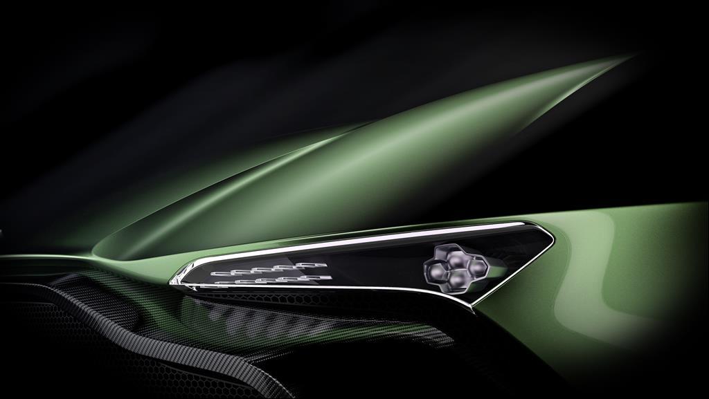 Vulcan's sharp looking headlights