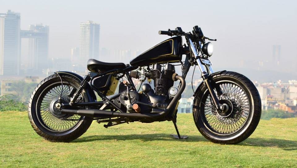 Custom Enfield Bobber by 'Karma Design'