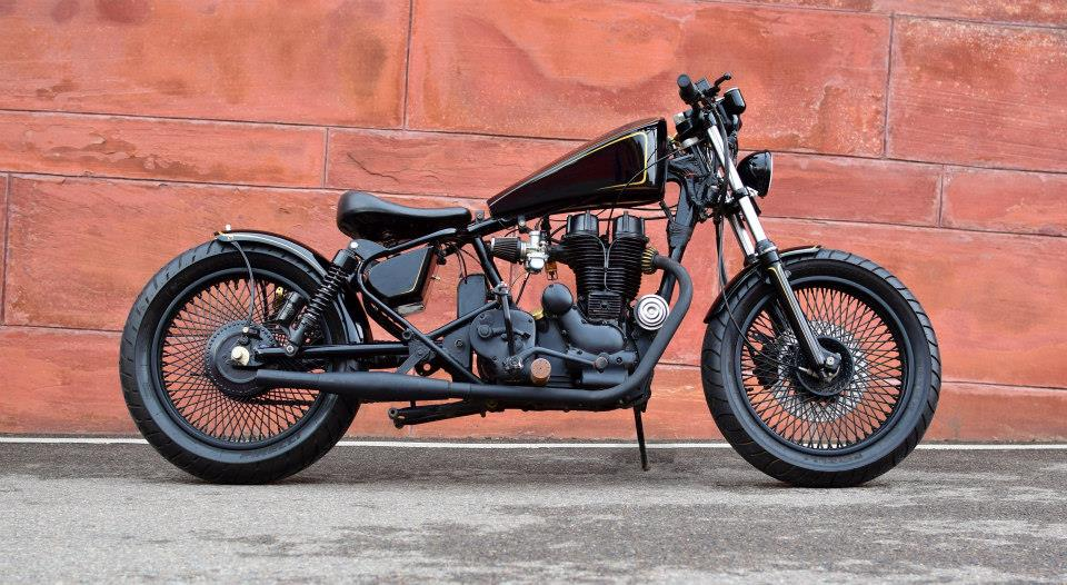 Custom Enfield Bobber by 'Karma Design'