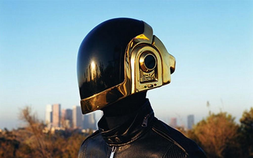 Daft punk motorcycle helme