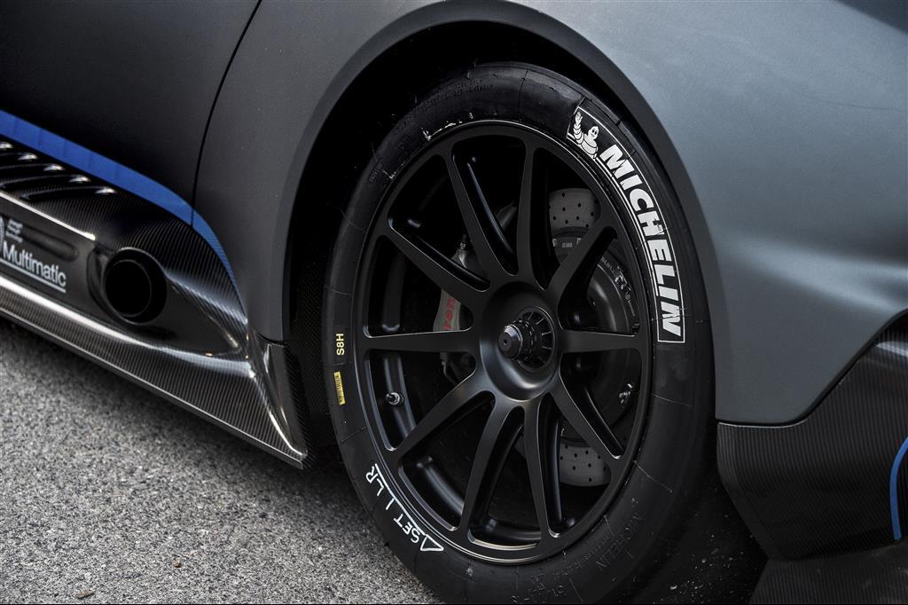 Race slick tyres