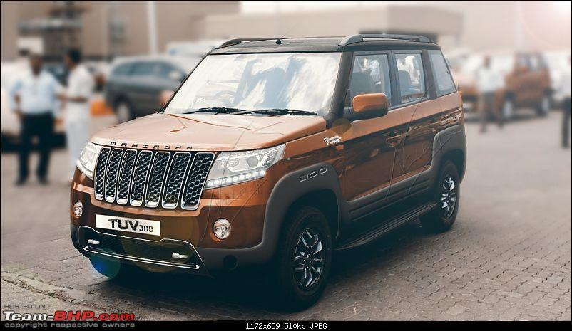 New Mahindra TUV300 render looks better than the original