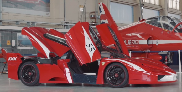 Guy Martin drives world's only genuine road-legal Ferrari FXX