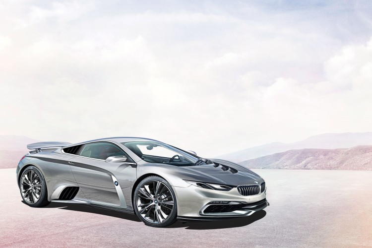 BMW/McLaren supercar.