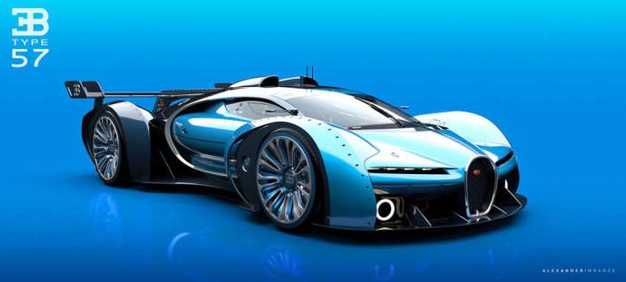 Bugatti Type 57GT Concept