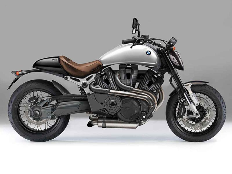 BMW's radical W3 cruiser