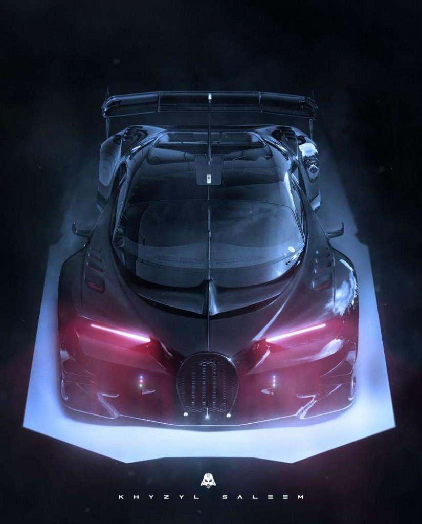 5. Darth Vader Bugatti Concept by Khyzyl Saleem