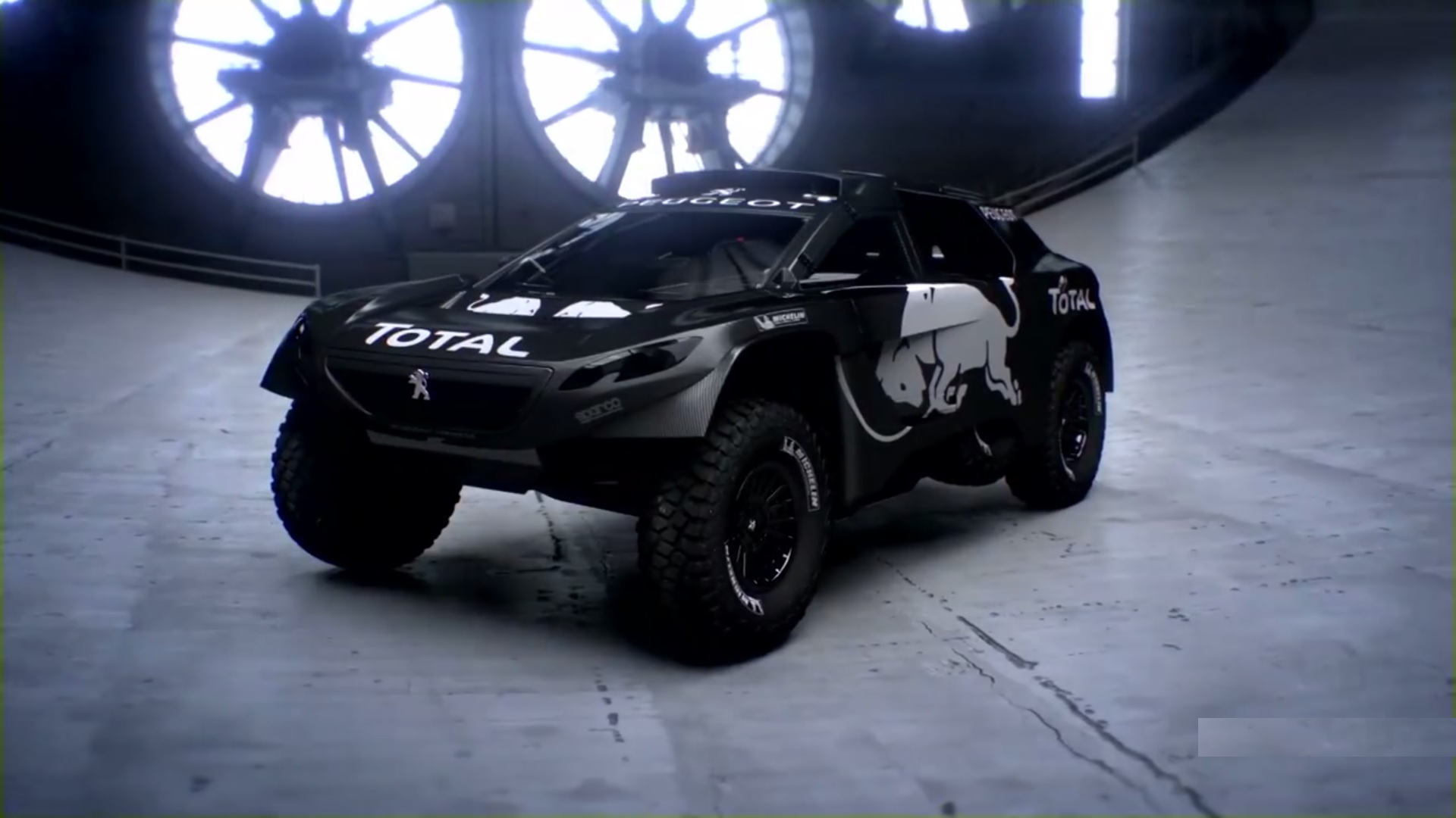 Check out Peugeot's off-road monster