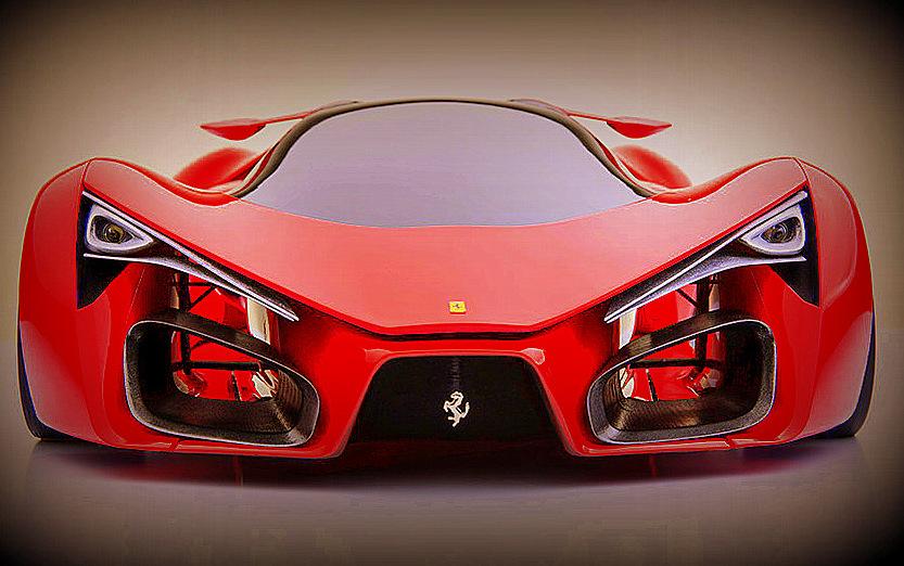 Ferrari's concept - F80