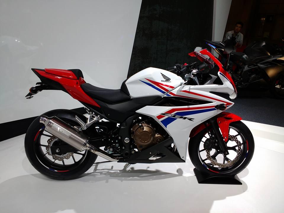 Honda unveils the CBR400R | Shifting-Gears