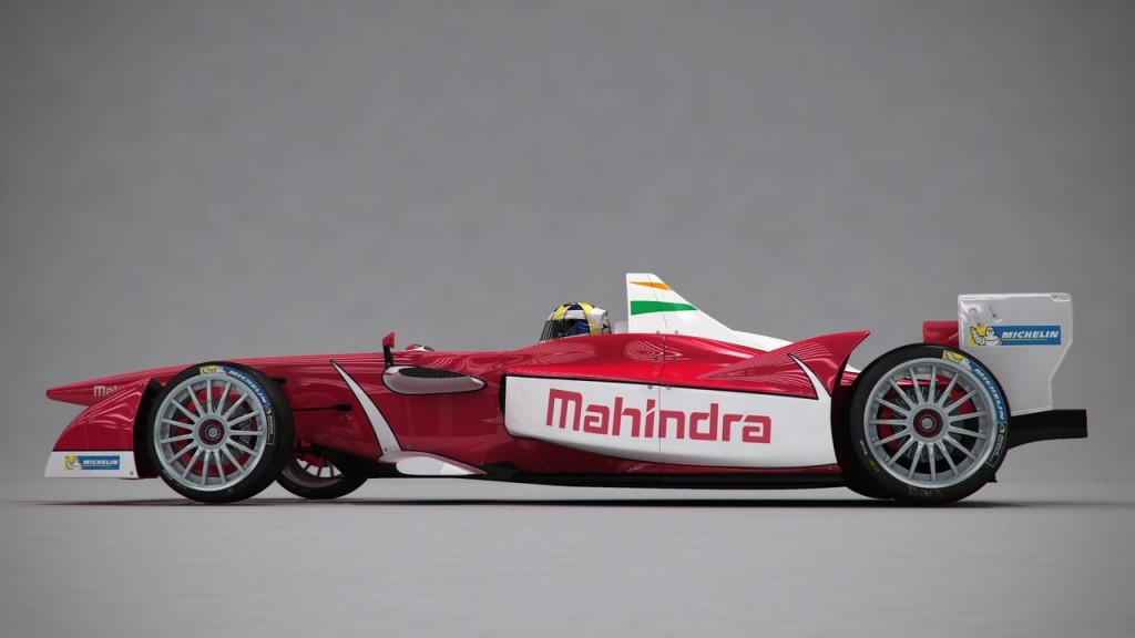 Mahindra Racing's first Formula E podium in Beijing
