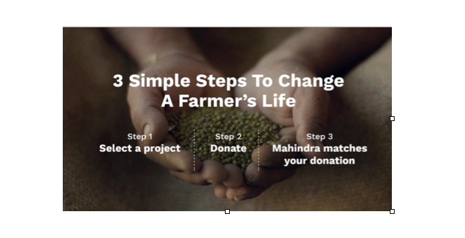 Mahindra SeedTheRise initiative to crowd source funds for farmers