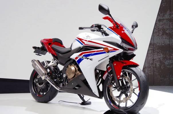 Honda unveils the CBR400R