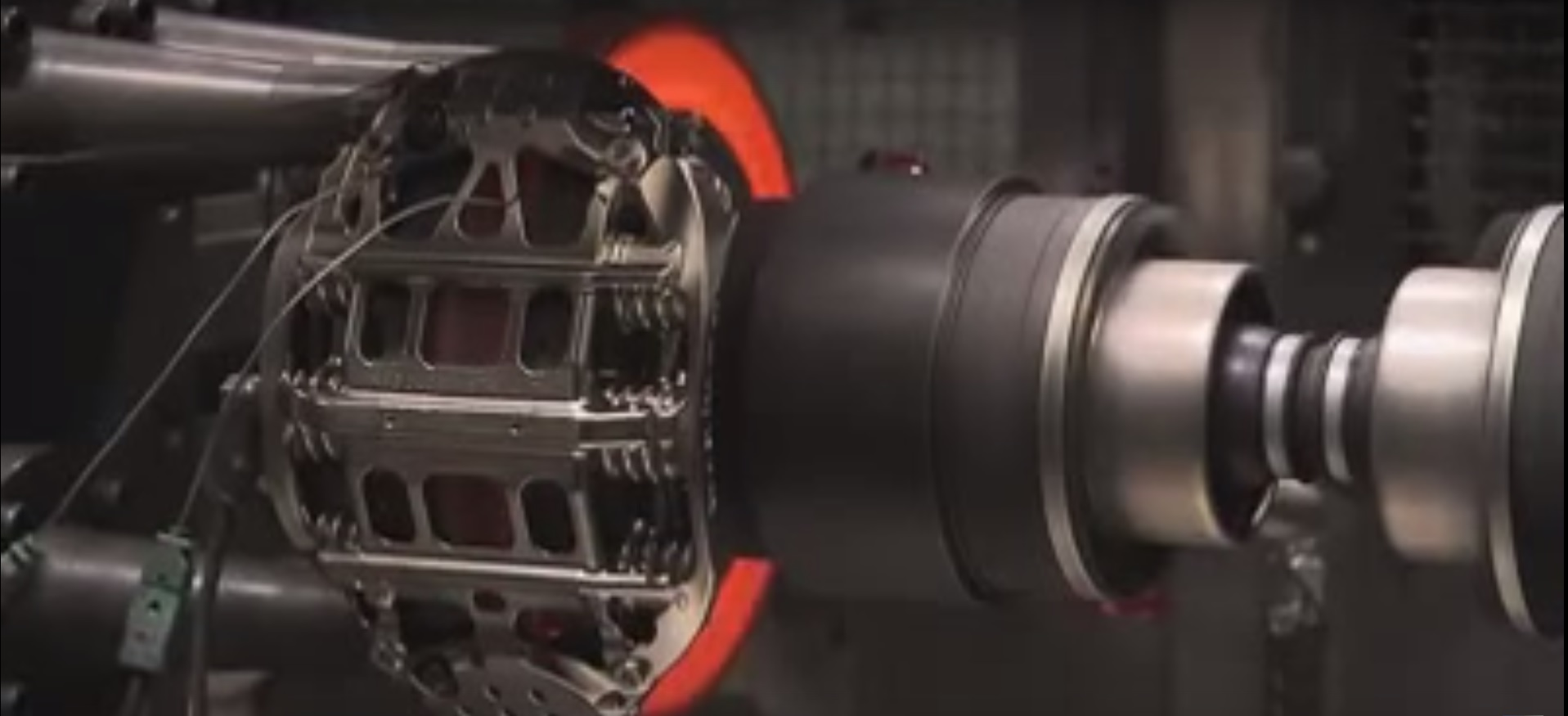 Video - F1 brakes being tested