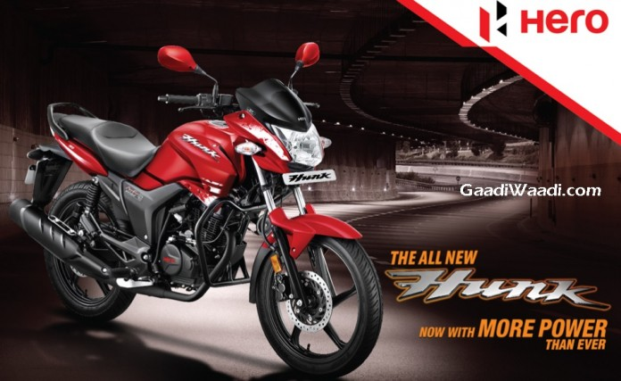 Hero Hunk facelift to be priced @ Rs. 69,725