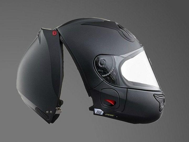 Helmet Design Revolution? Vozz 'Strapless' Helmet