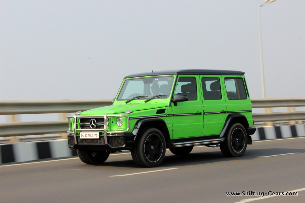 Mercedes-Benz G63 AMG photo gallery