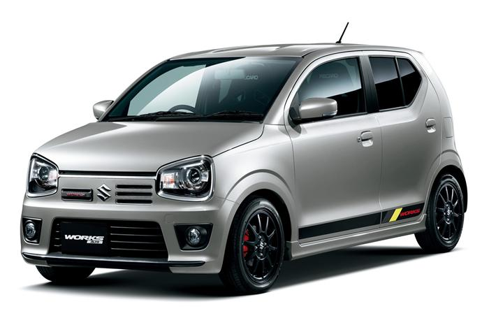 Suzuki Alto 'Works' unveiled