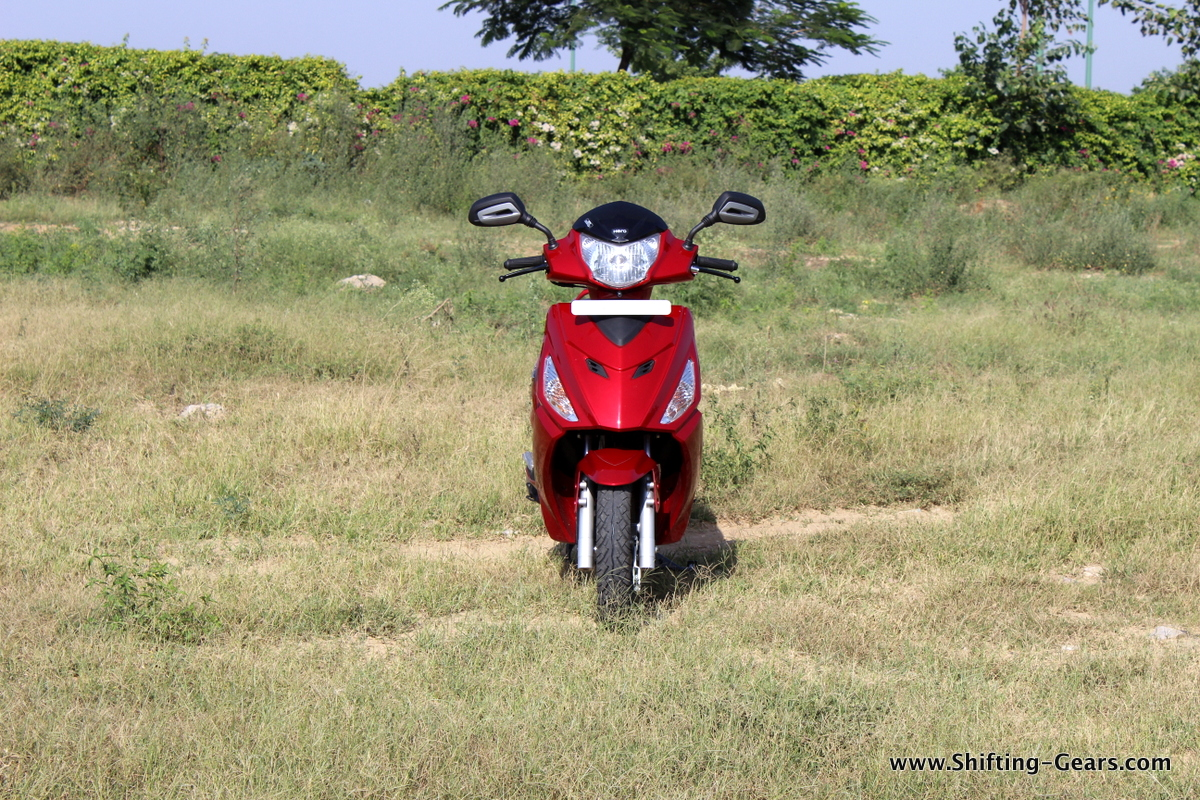 Hero MotoCorp Maestro Edge photo gallery
