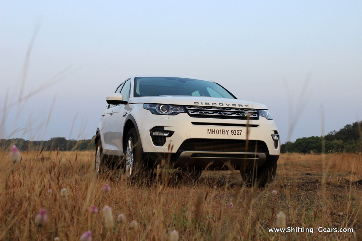Land Rover Discovery Sport photo gallery