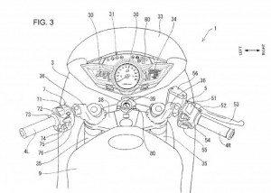 Honda-Blind-Sport-Detection-System-on-bikes-patent-skech