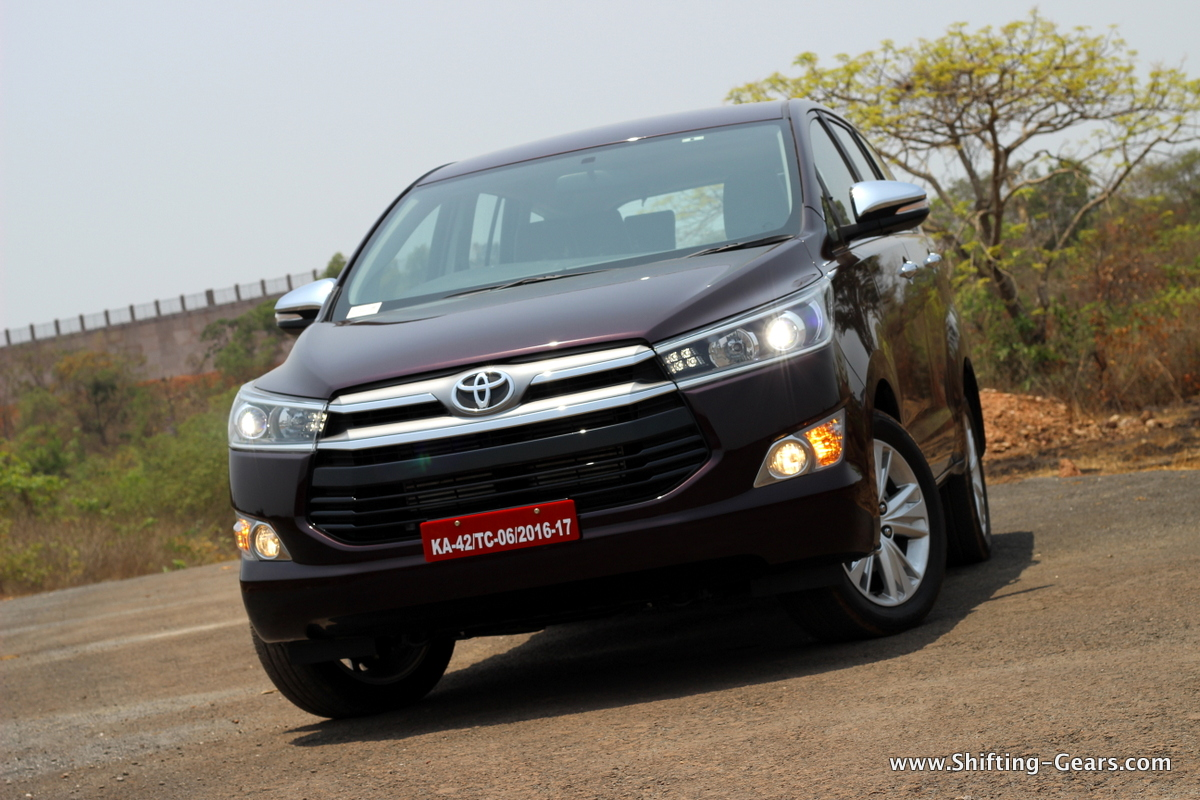 Toyota Innova Crysta Test Drive Review Shifting Gears