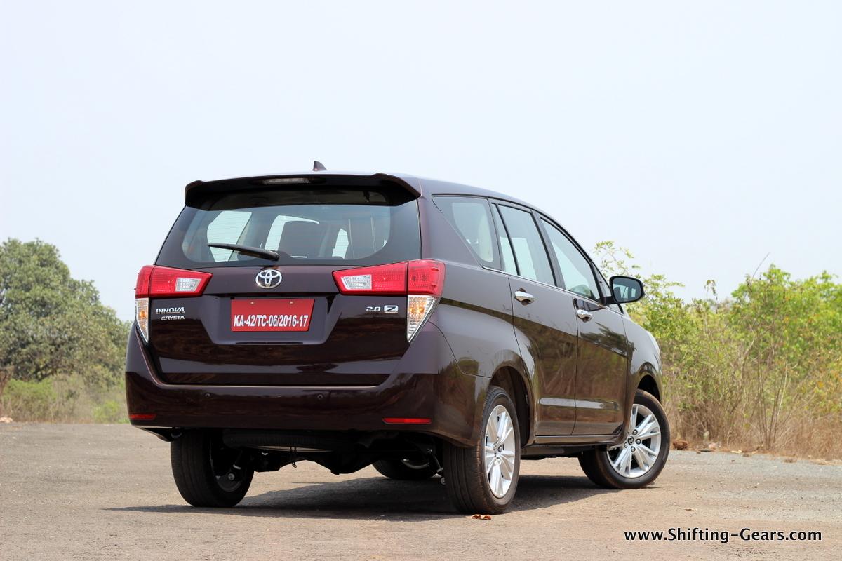 Toyota Innova Crysta Photo Gallery Shifting Gears