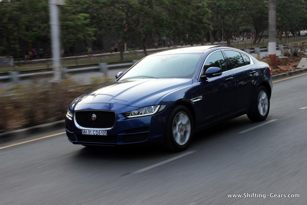 jaguar xe test drive review shiftinggears