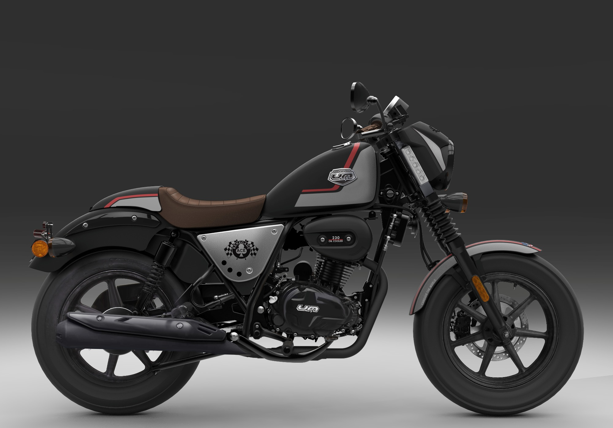 Um Motorcycles Launches Renegade Duty At Auto Expo 2018